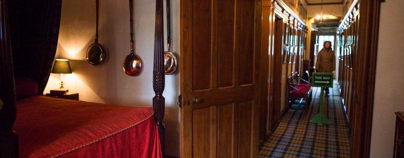 Interior castillo Eilean Donan